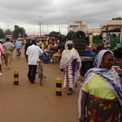 Fotografía de la ciudad donde realizamos nuestro proyecto para ayudar a personas con VIH en Ghana.
